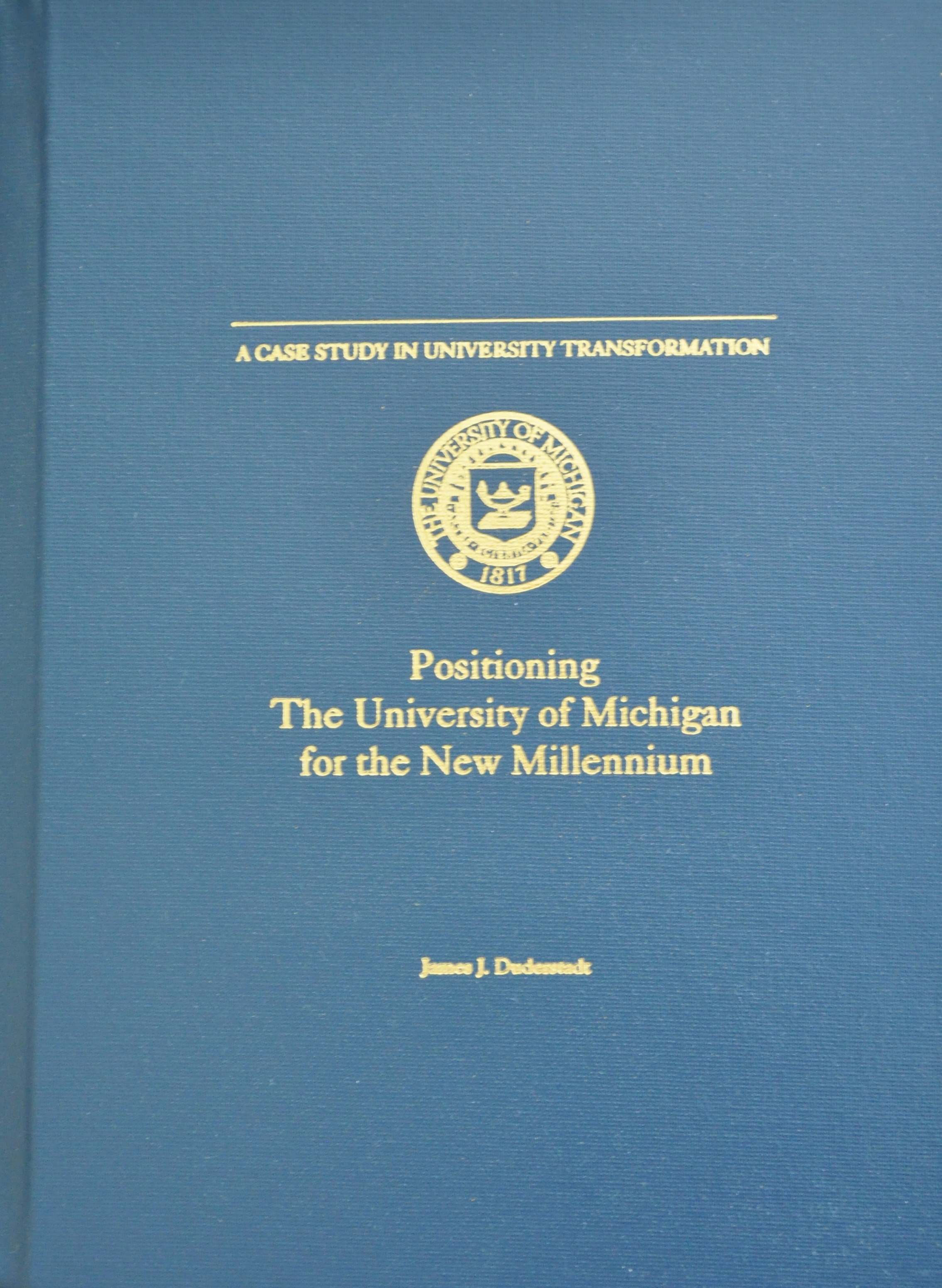 Positioning UM for Millennium Book cover