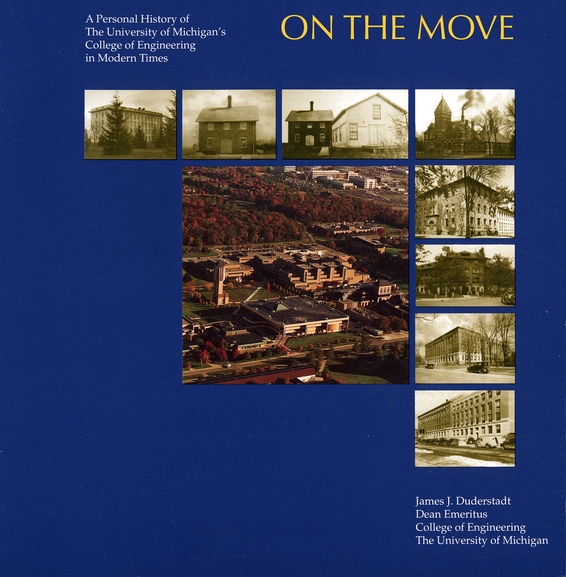 UM Engineering On the Move Book cover
