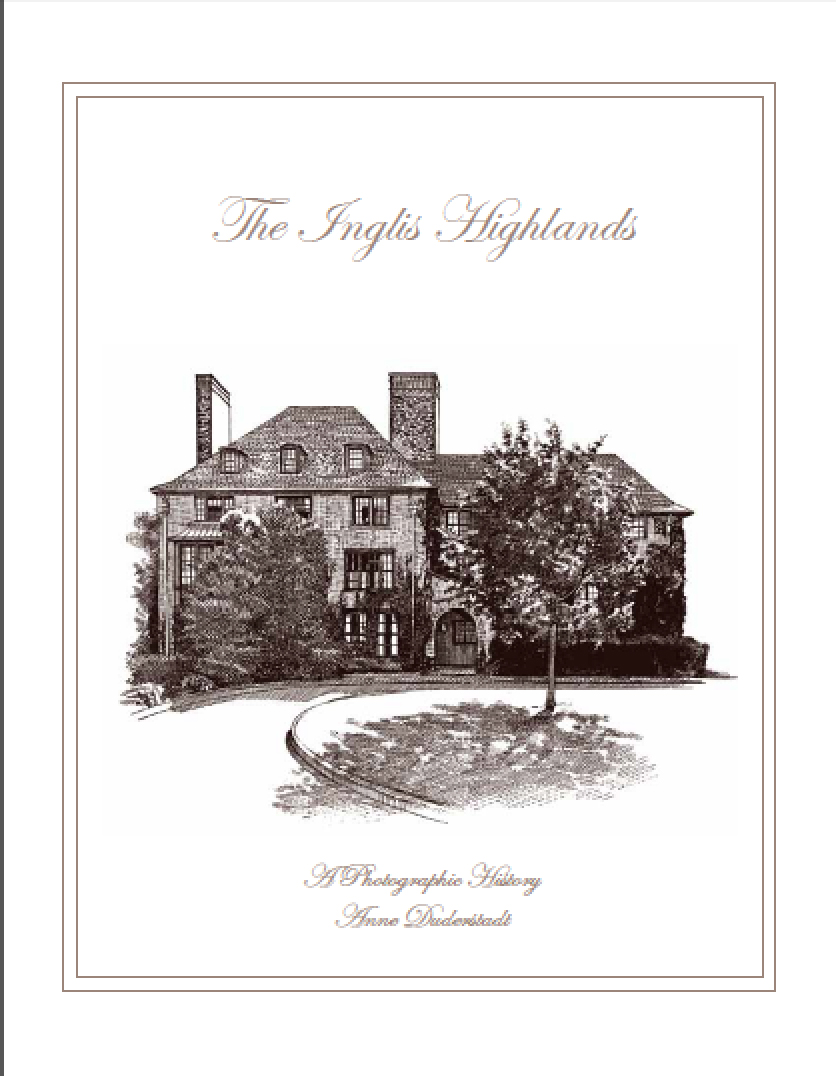 Inglis House Estate Book cover